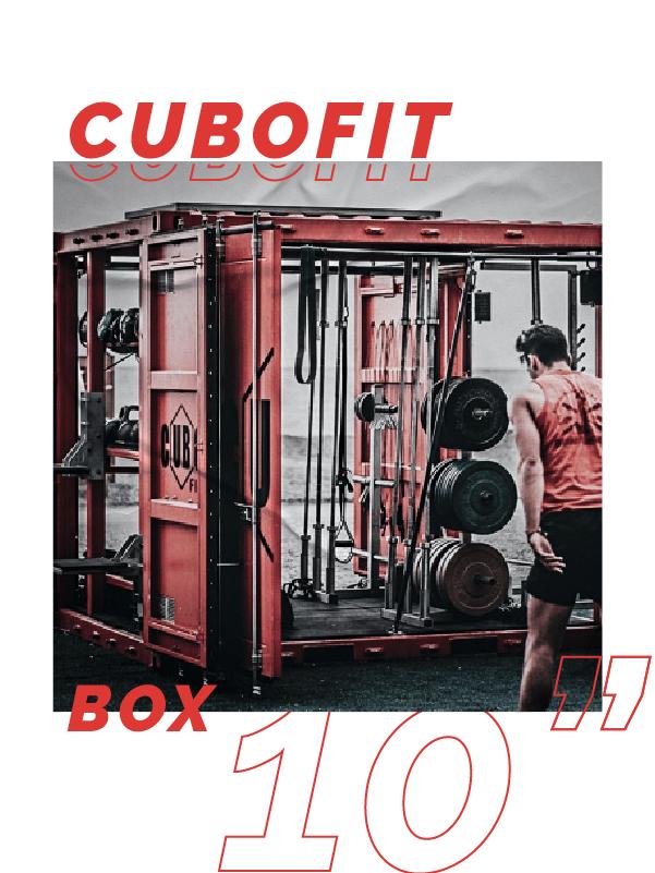 """Cubofit box 10"""""""